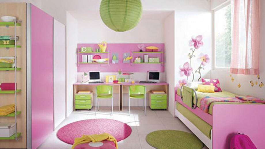 girly kids room decor ideas