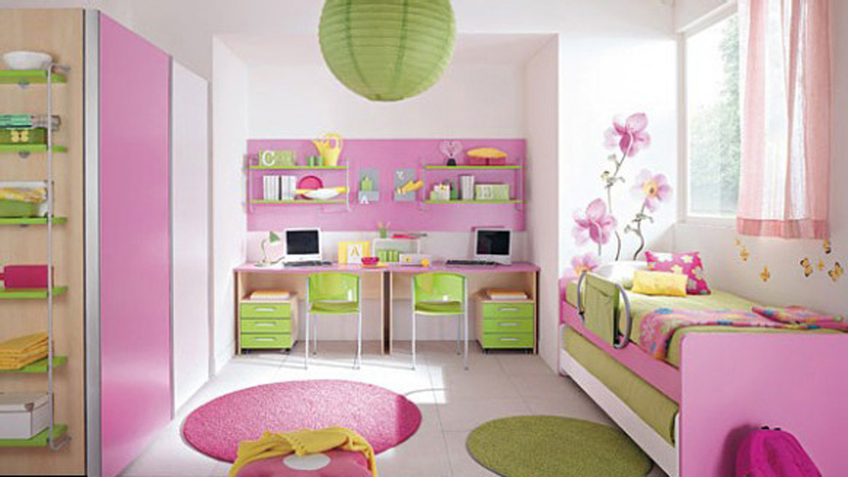 Girly kids room decor ideas for Child room decoration