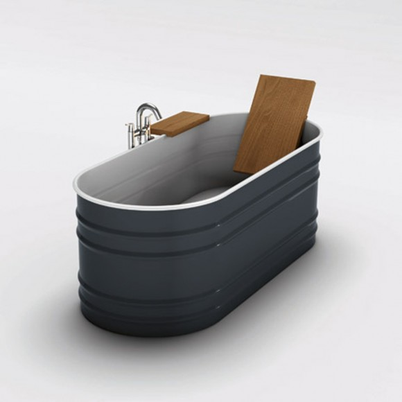 innovative black bathtub decoration ideas