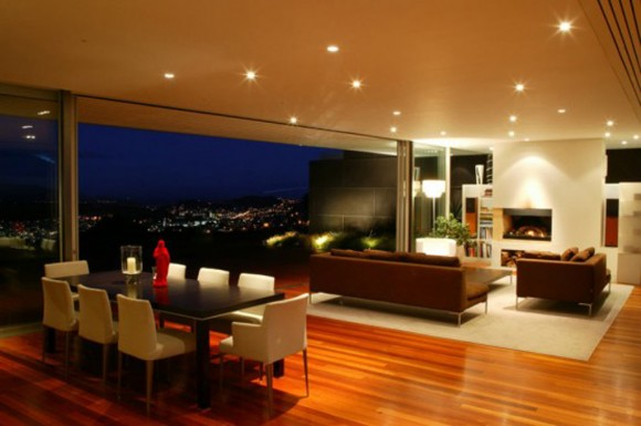 luxury integrated space modern house decor