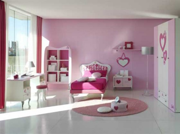 modern girls room decor