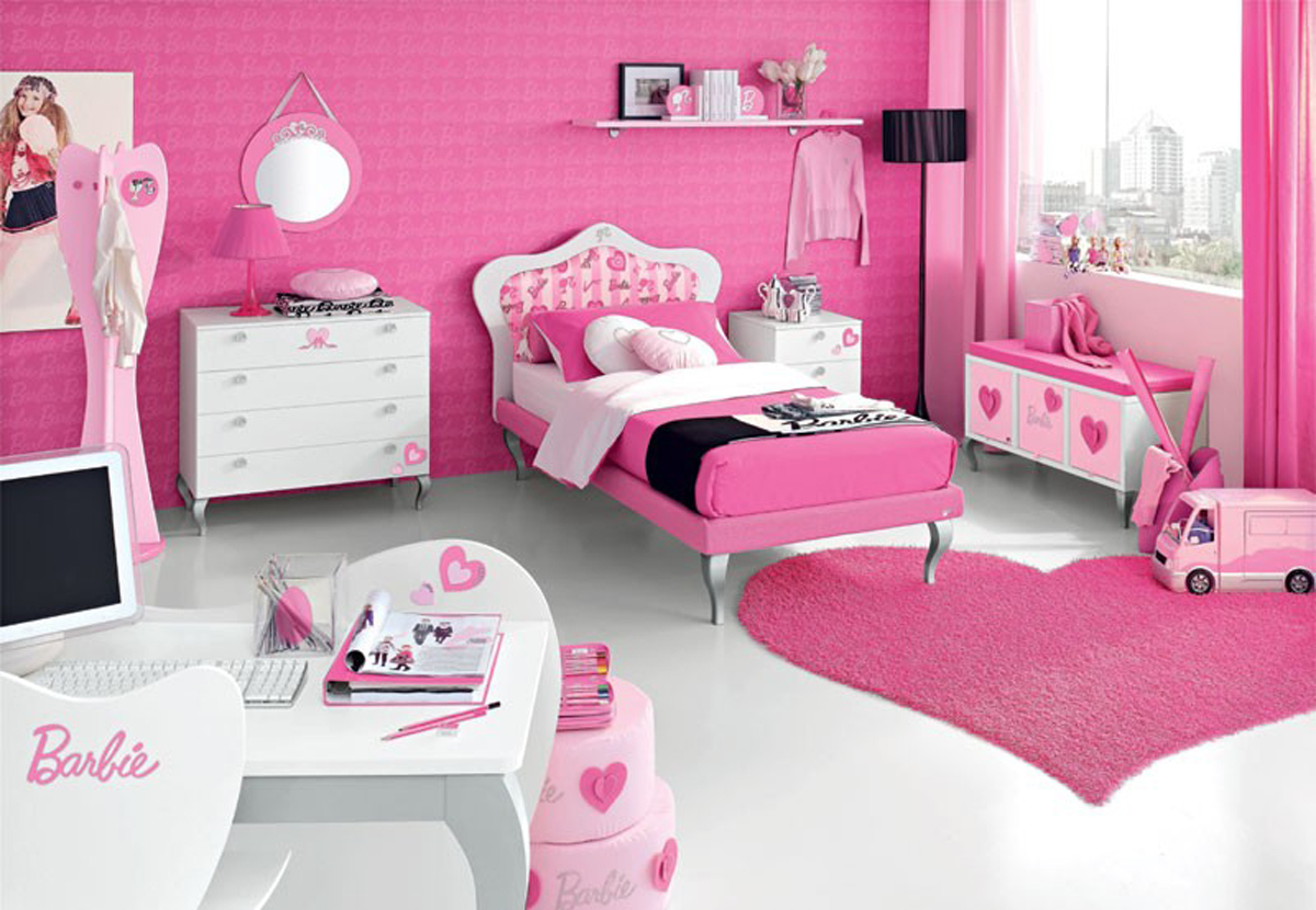 Pink Teenage Room Decor Ideas