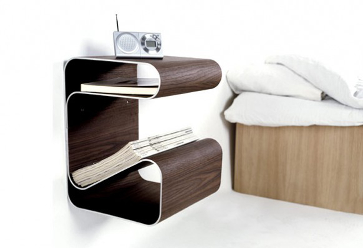 Simple table bed decor ideas for Design table design