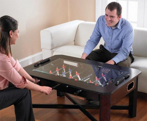 soccer coffee table decor ideas