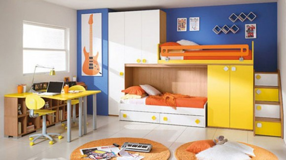 space saving furniture for twins bedrooms