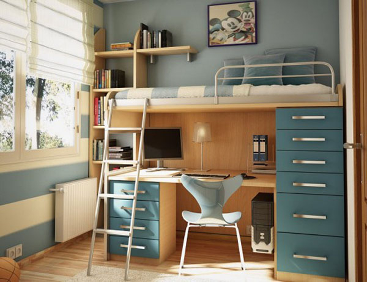 Incredible Teen Bedroom Ideas with Loft Beds 1200 x 922 · 465 kB · jpeg