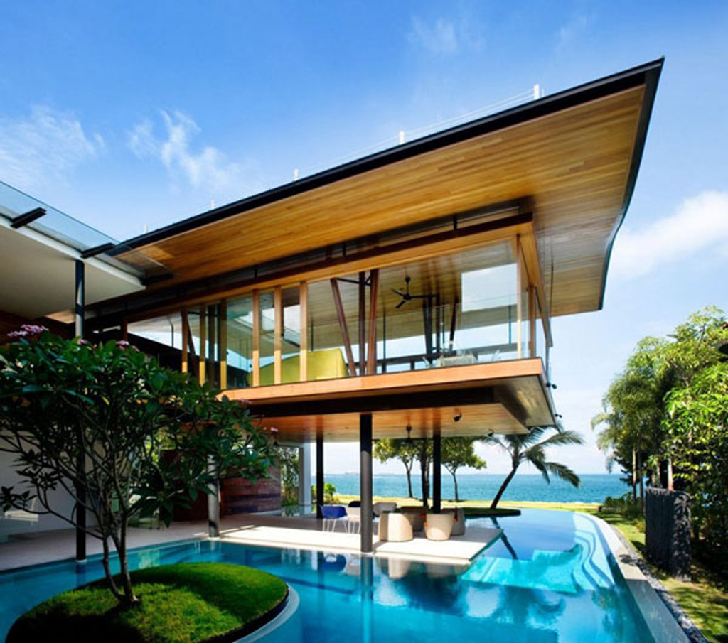 Amazing beach house designs from guz architects for Beachside home designs
