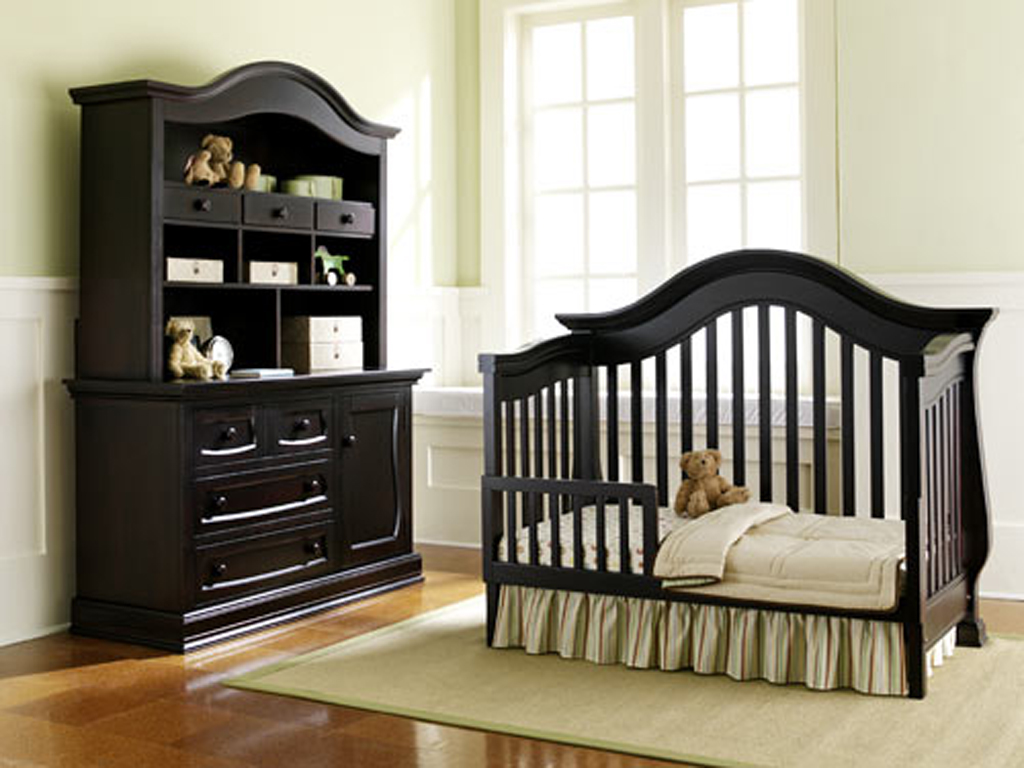 Black Luxury Baby Bedroom Furniture Plans
