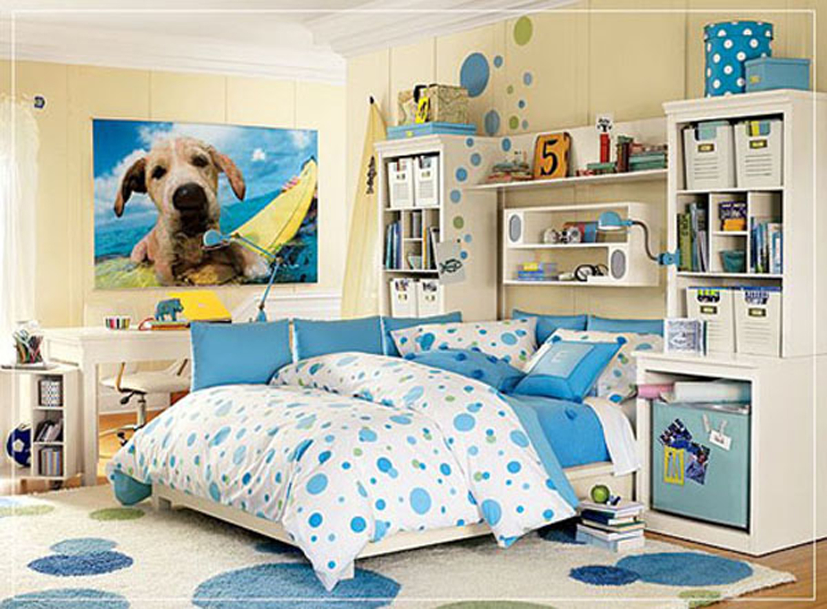 Colorful teen room decor ideas for Teenage bedroom ideas