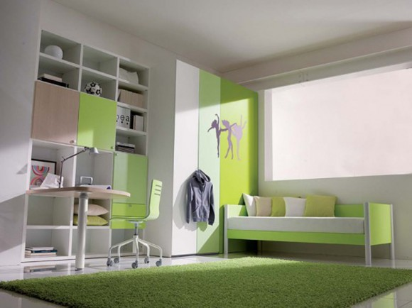 decorative color scheme for teenager