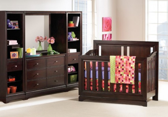 decorative nursery furniture layouts