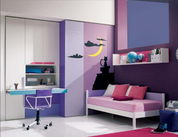 decorative teenager bedroom inspirations