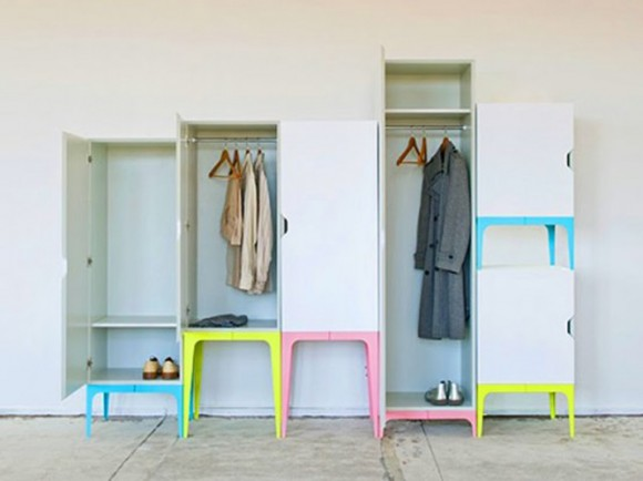 dynamic modular wardrobe designs