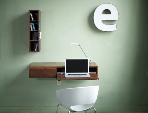 integrated wall decal office table plans