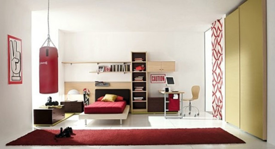 masculine teen room decorating designs