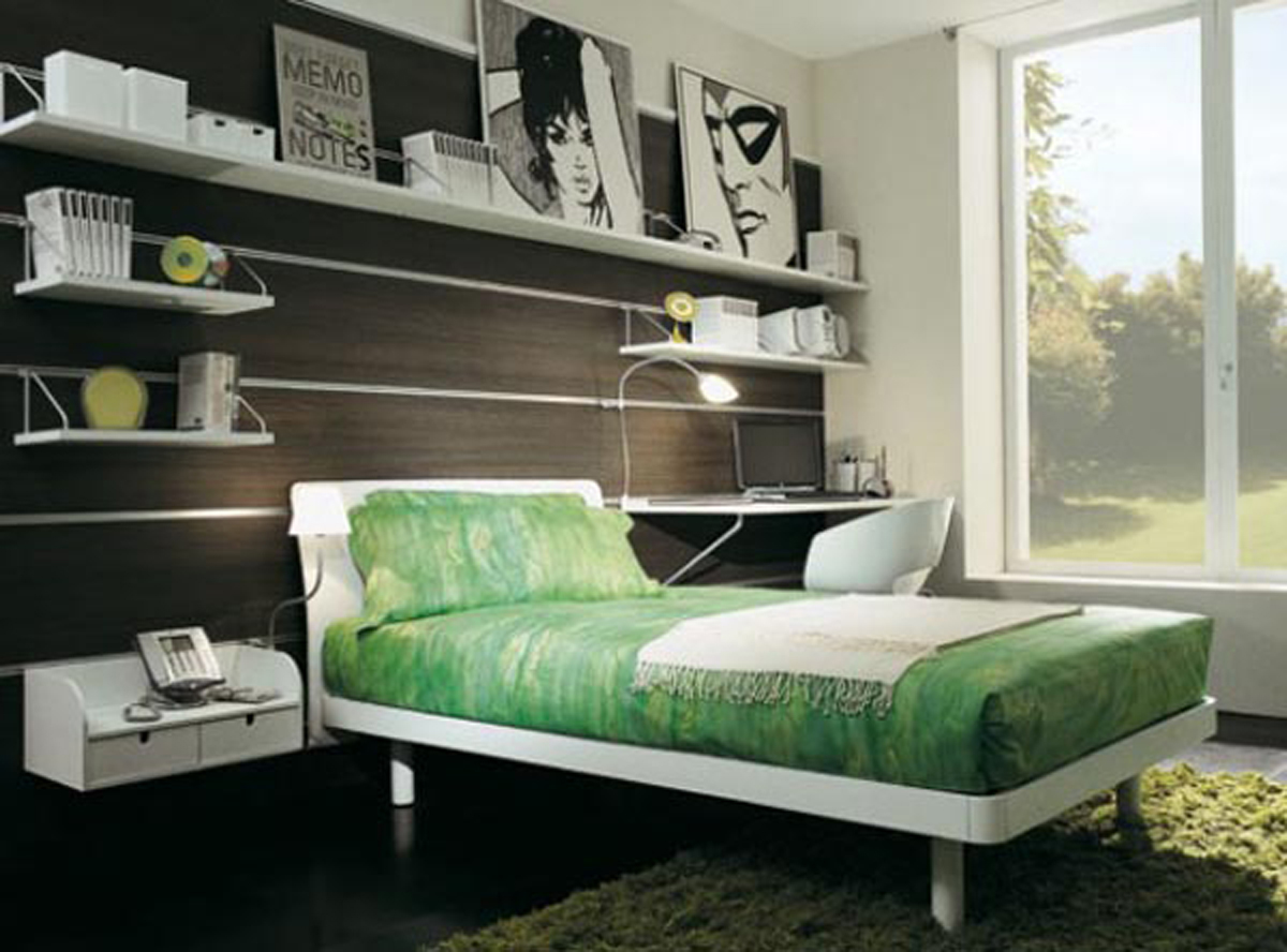 Modern teenage room decorating ideas - Bedroom apartment decorating ideas ...