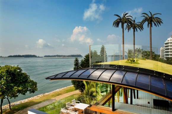 panoramic tropical house designs