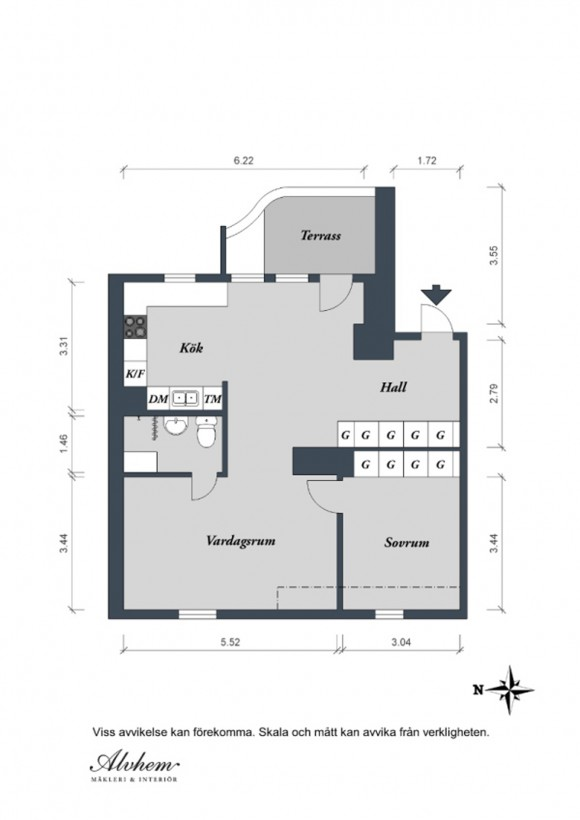 simple apartment decor plans