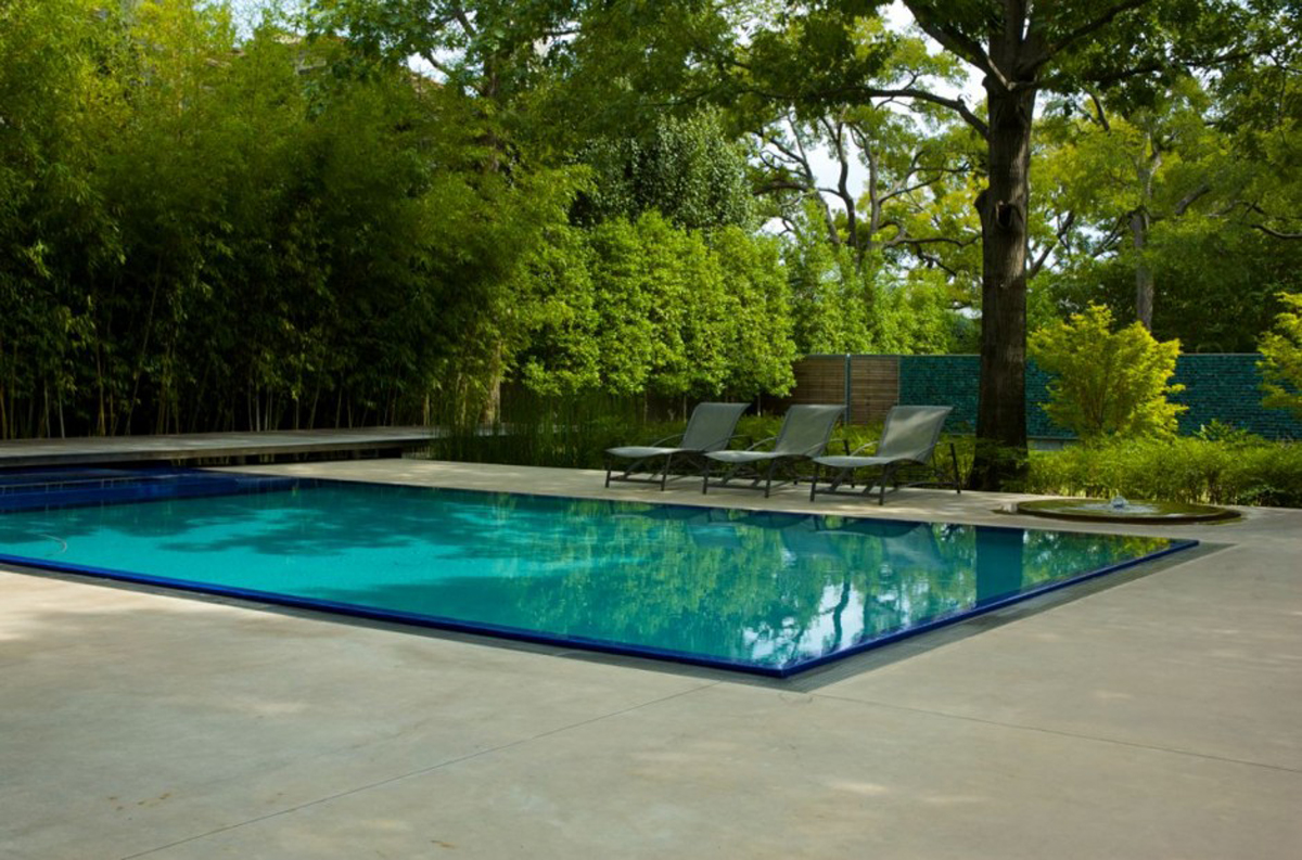 Fancy outdoor pool decor ideas for Modern house design with pool