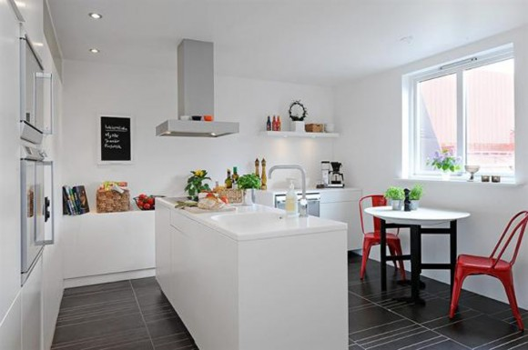 minimalist kitchen decorating ideas