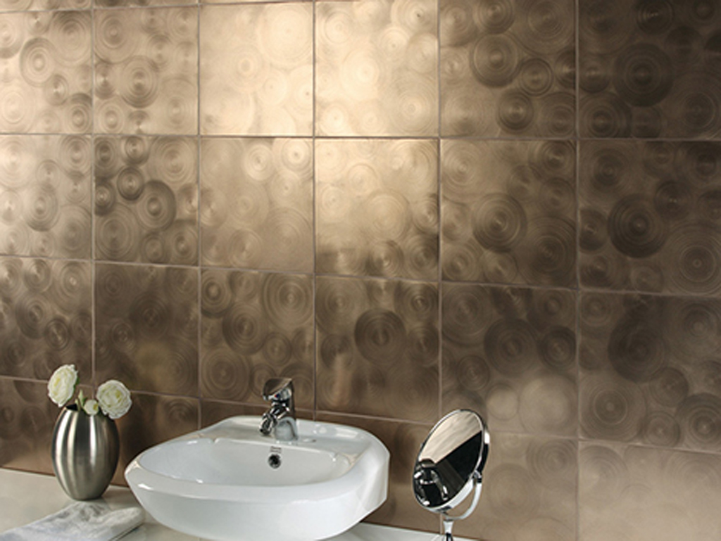 Magnificent Bathroom Tile Designs One of 4 total Photos Metallic Bathroom Tile  1024 x 769 · 327 kB · jpeg