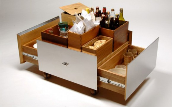 practical bar storage decor plans