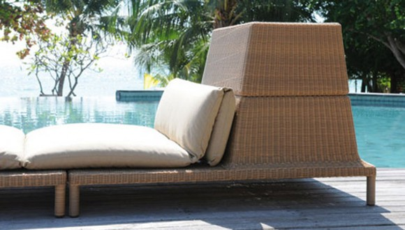rattan outdoor furniture decor