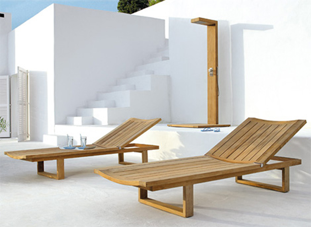 Wooden Outdoor Furniture Layouts