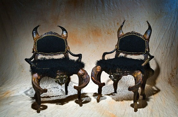 artistic infernal furniture designs