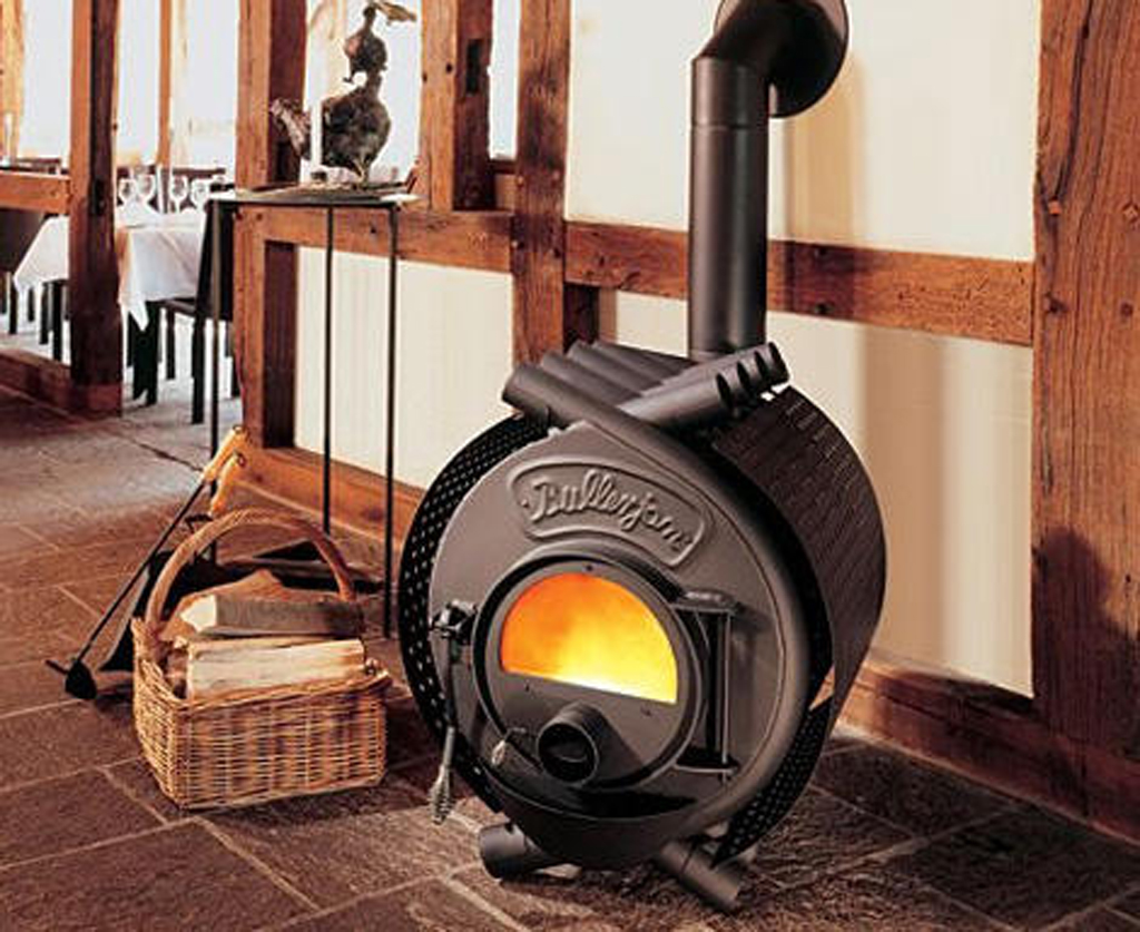 Stainless Steel Wood Stove Designs from Energetec  Iroonie.com