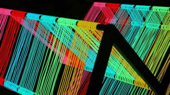 colorful disco armchair layouts