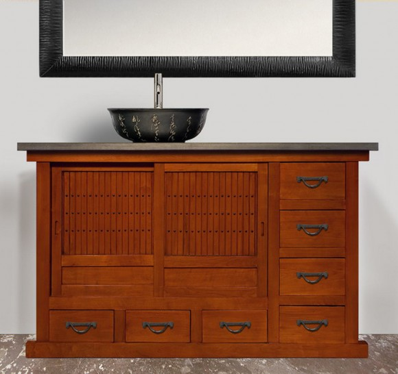 contemporary bathroom furniture plans