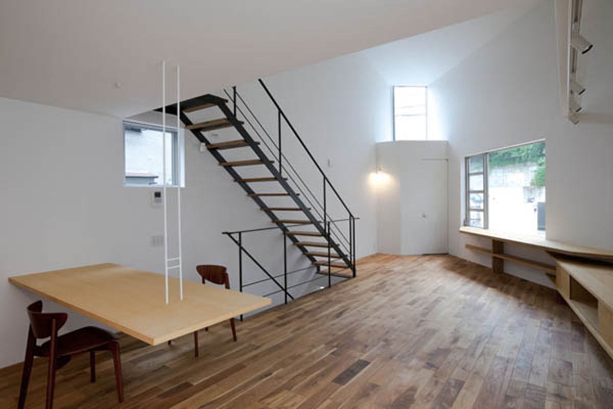 Contemporary Japanese House Interior Decor