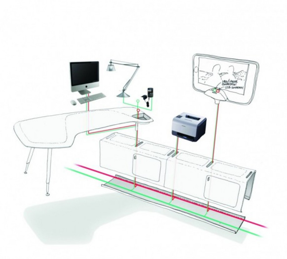 functional office layout