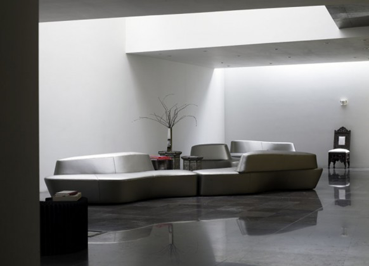 Futuristic Living Room Design