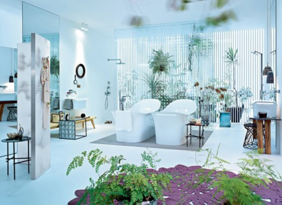 green bathroom remodeling designs