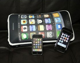 imitation iphone pillow designs