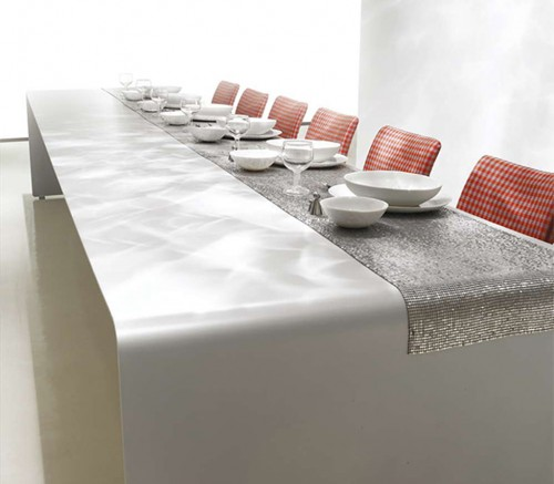 Modern-luxury-dining-room-interior-design-with-contemporary-metal-table-and-red-chairs-design-ideas.