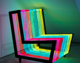 modern glowing armchair designs