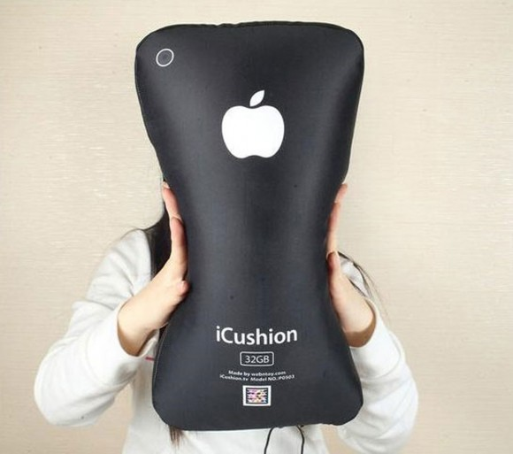 modern iphone pillow decor