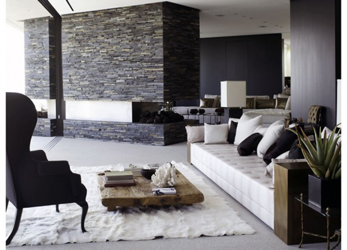 Modern living room ideas for Contemporary white living room design ideas