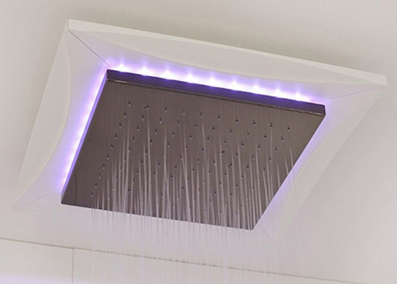 rainy ceiling shower plans