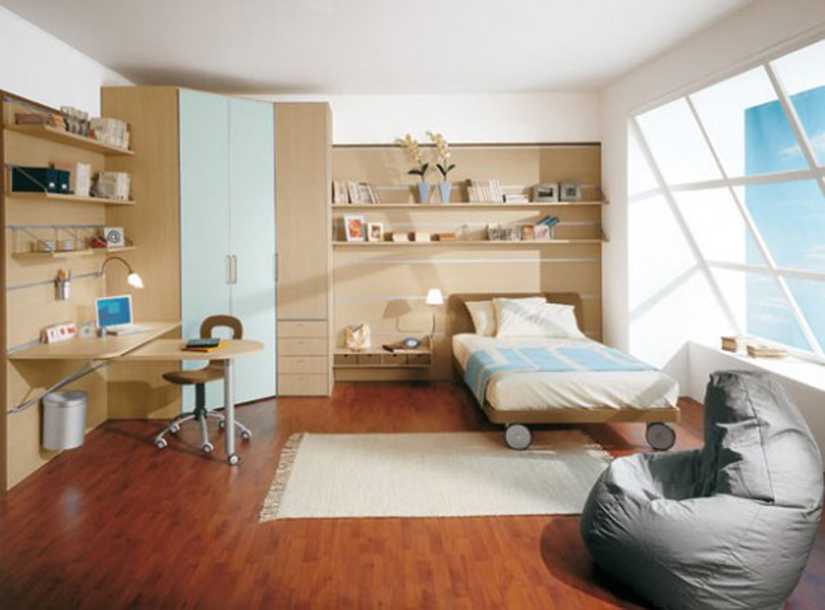 simple bedroom furniture layouts