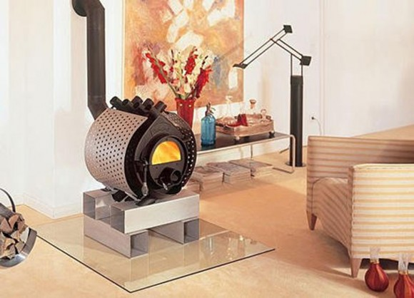 stainless steel wood stove decor plans