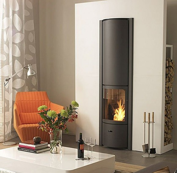 unique burning stove design ideas
