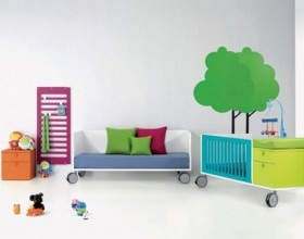 cheerful kids bedroom layouts