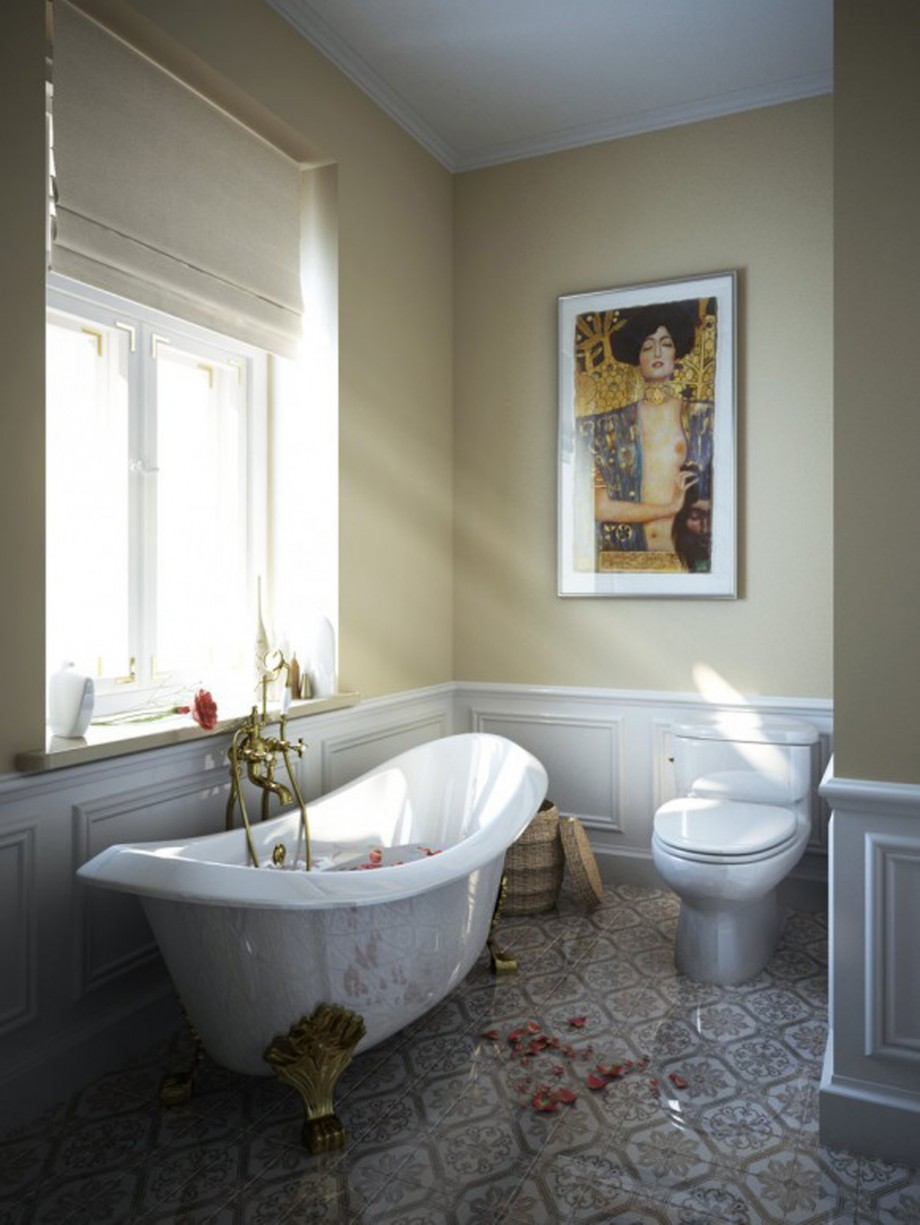 classic bathtub decorating ideas
