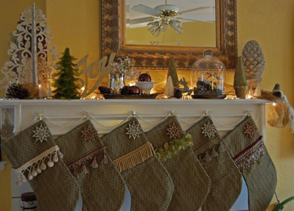 classic christmas stocking decors
