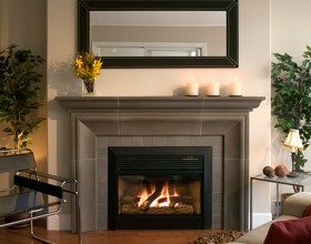 classic house fireplace decor