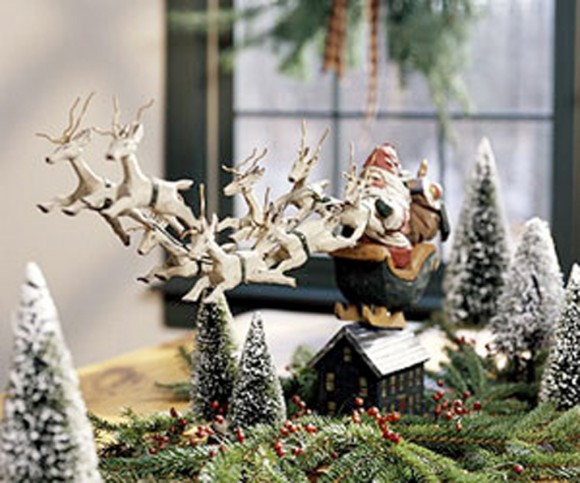 Classic santa claus decor ideas for Amazing christmas decorations